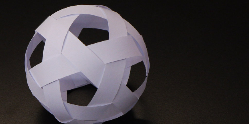 How to Make a Half Sphere Out of Paper