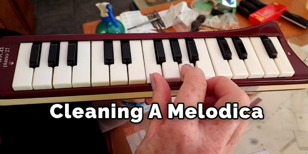 Cleaning A Melodica