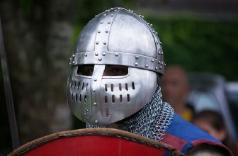 How to Make a Knight Helmet Out of Tin Foil
