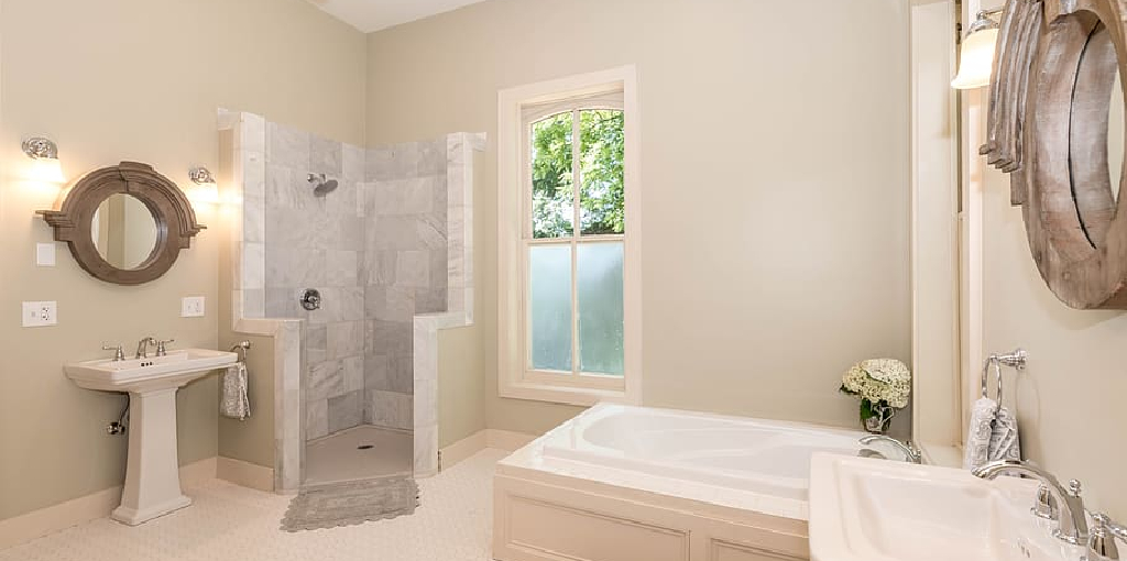 How to Paint Shower Walls