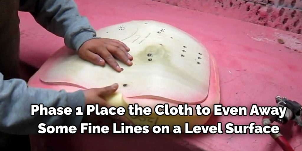 Instructions to Attach Foam to Fabric