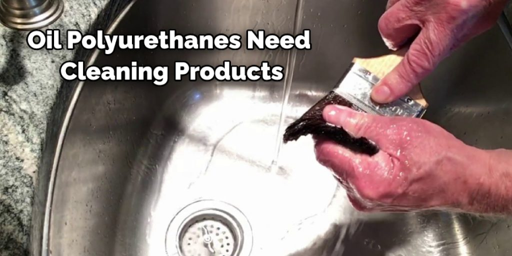 Cleaning Products in brush