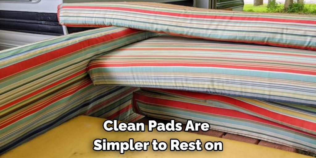 Process to Clean Foam Cushions From a Camper