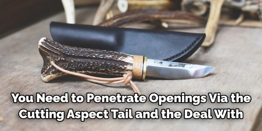 Safety of How to Finish a Deer Antler Knife Handle