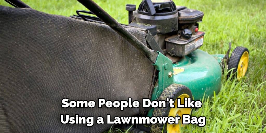 Should I Use a Lawn Mower Bag